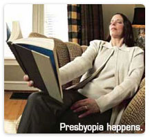 Learn about Presbyopia at New Westminster Optometry Clinic